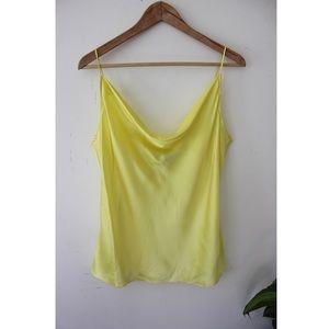 NWT Generation Love Lorena Cami Silk Yellow XL